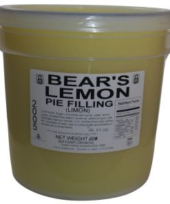 Bear Stewart Lemon Filling bucket